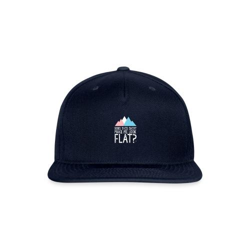 FLAT - Snapback Baseball Cap