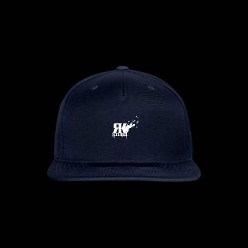 RKStudio White Logo Version - Snap-back Baseball Cap