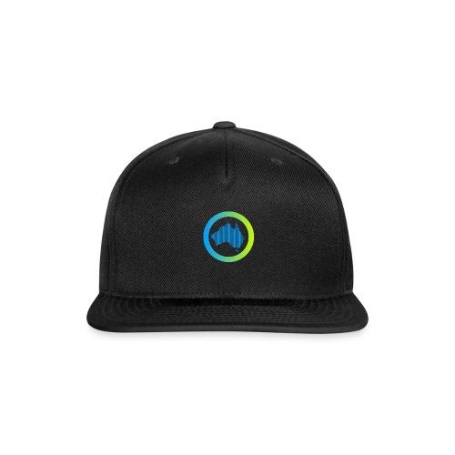 Gradient Symbol Only - Snapback Baseball Cap