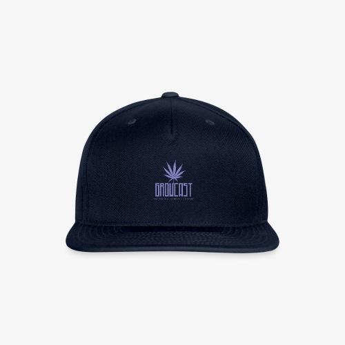 Growcast Purple Logo - Snapback Baseball Cap