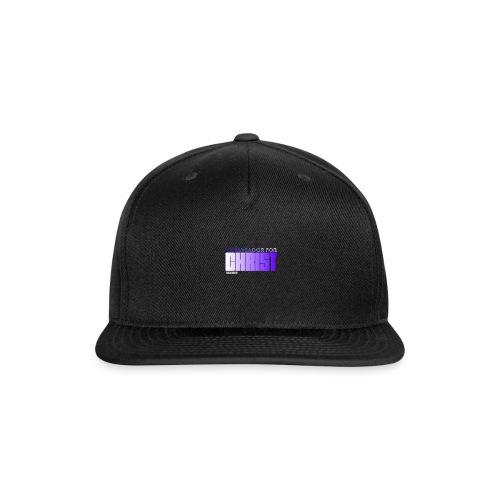 Ambassador for Christ - Snapback Baseball Cap
