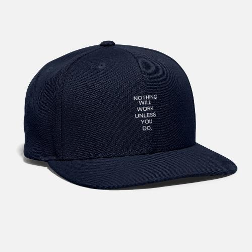 WORK - Snapback Baseball Cap