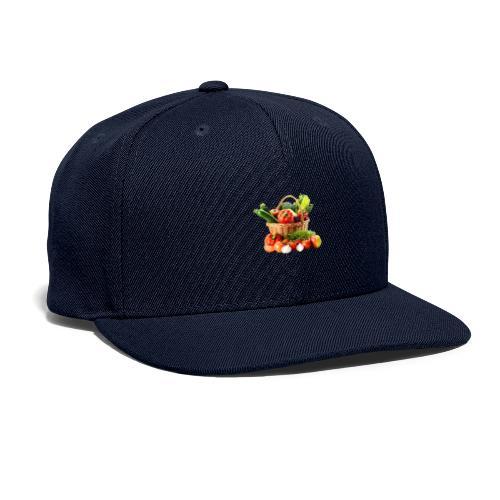 Vegetable transparent - Snapback Baseball Cap