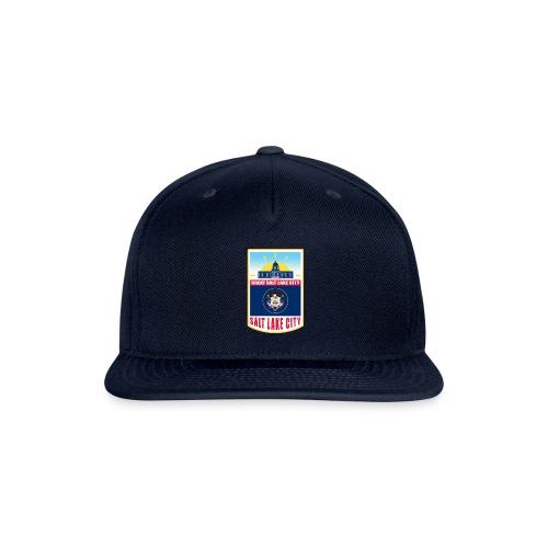 Utah - Salt Lake City - Snapback Baseball Cap