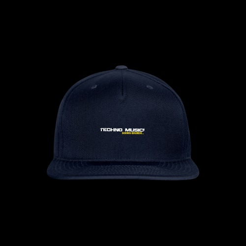 Techno Music - Snap-back Baseball Cap