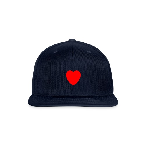 Red heart Care - Snapback Baseball Cap