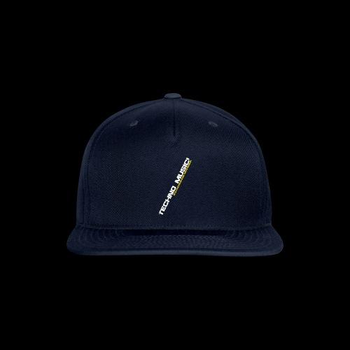 Techno Music.. Hey DJ.. - Snap-back Baseball Cap
