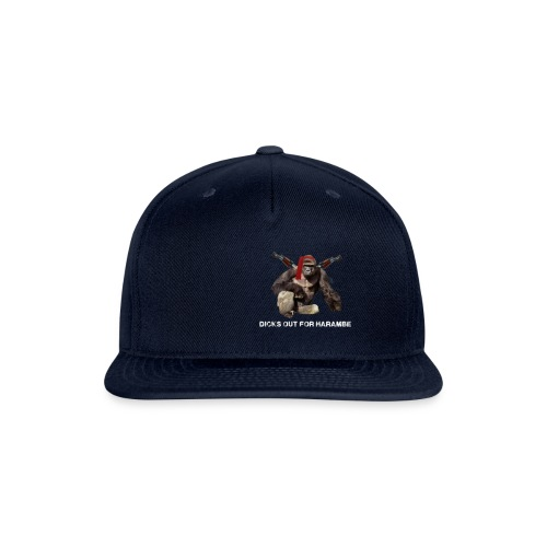 dicks out for harambe - Snapback Baseball Cap
