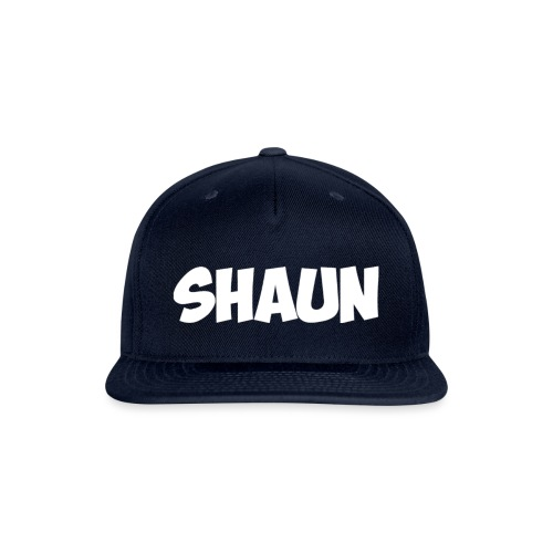 Shaun Logo Shirt - Snap-back Baseball Cap