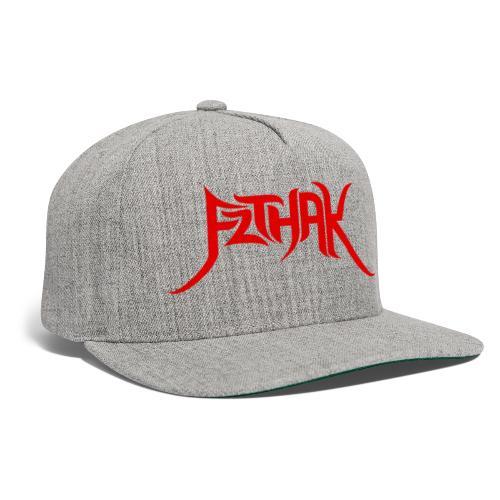 Tribal Logo (Red) - Snapback Baseball Cap