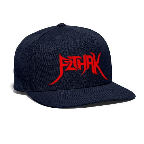 Tribal Logo (Red) - Snapback Baseball Cap