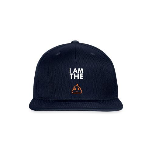 I am the shit T-shirt - Snapback Baseball Cap