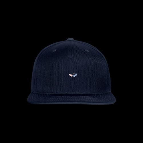 Black T-Shirt - Seventeen - Snap-back Baseball Cap