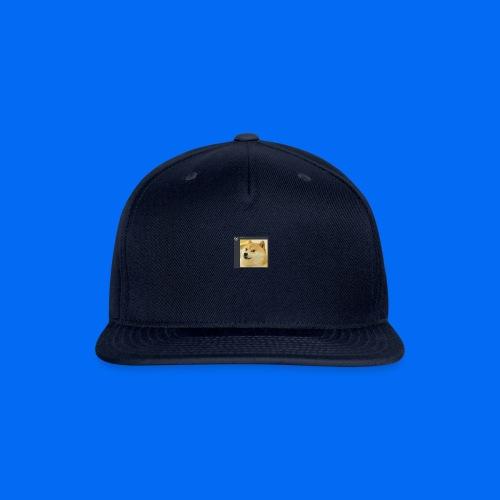 Doge Shirt - Snapback Baseball Cap