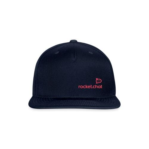 Red Logo Rocket.Chat - Snapback Baseball Cap