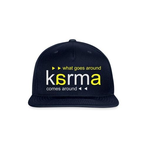 Karma Yellow - Snapback Baseball Cap