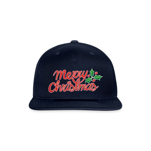 Merry Christmas, best wishes, season's greetings! - Snap-back Baseball Cap