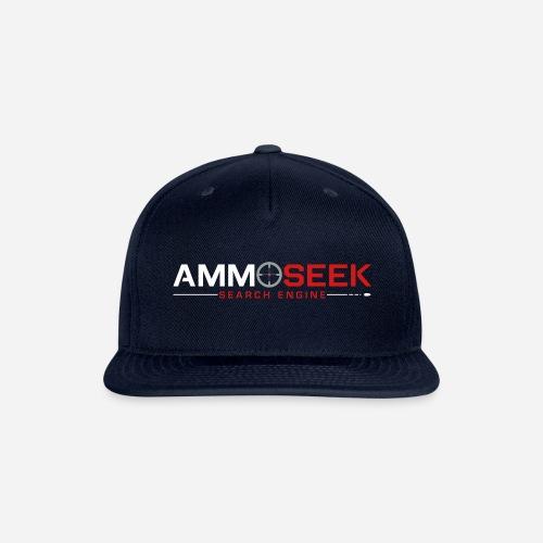 AmmoSeek_PrintLogo_Transp - Snap-back Baseball Cap