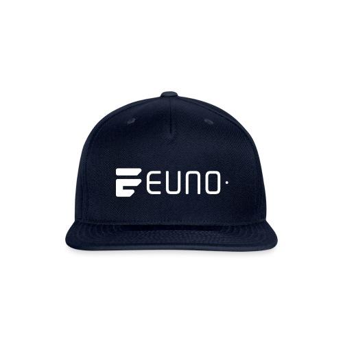 EUNO LOGO LANDSCAPE WHITE - Snap-back Baseball Cap
