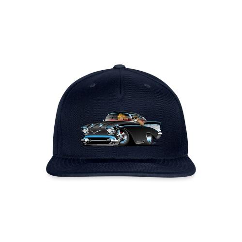 Classic hot rod fifties muscle car - Snapback Baseball Cap