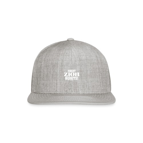 Mount ZION Awaits - Snapback Baseball Cap