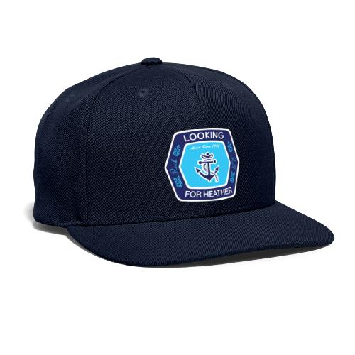 Looking For Heather Stock Logo - Snapback Baseball Cap