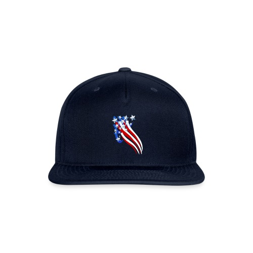 Sweeping Old Glory - Snap-back Baseball Cap
