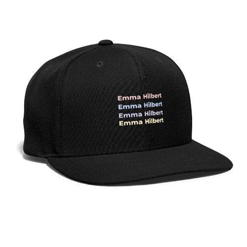 Emma Hilbert All over - Snapback Baseball Cap