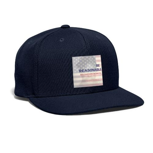 VERY REASONABLE LOGO! - Snapback Baseball Cap