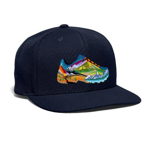 American Hiking x THRU Designs Apparel - Snapback Baseball Cap