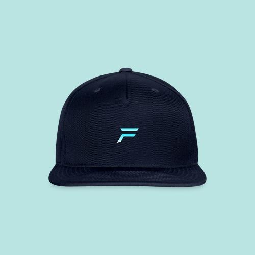 #furytfup Fade sharp logo - Snapback Baseball Cap