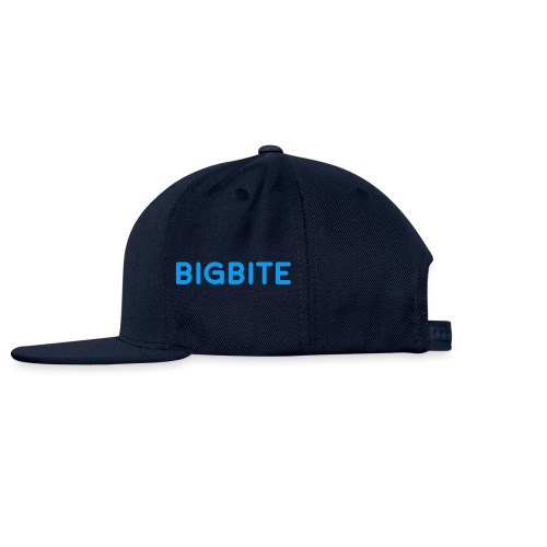 BIGBITE Blue - Snap-back Baseball Cap