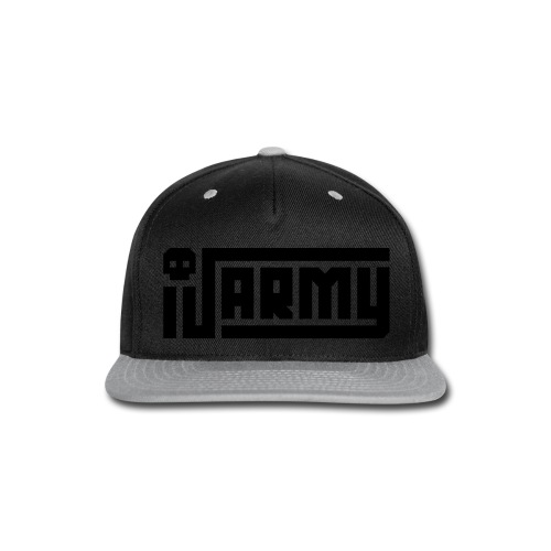 iJustine - iJ Army Logo - Snap-back Baseball Cap