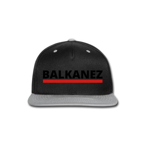 BALKANEZ BLACK - Snap-back Baseball Cap
