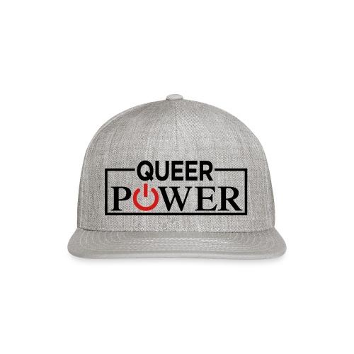 Queer Power Tshirt 04 - Snap-back Baseball Cap