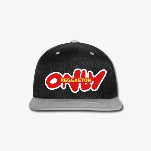 only reggaeton - Snap-back Baseball Cap