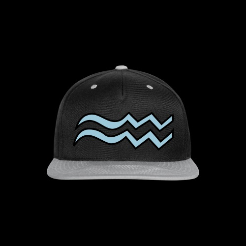 Aquarius - Snap-back Baseball Cap