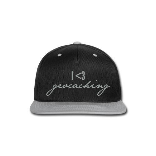 I love geocaching - Snap-back Baseball Cap