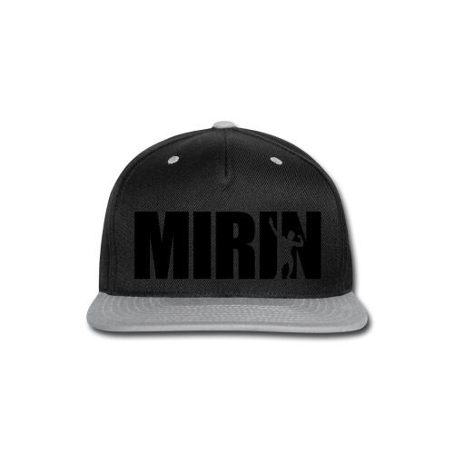 Zyzz Mirin Pose text - Snap-back Baseball Cap