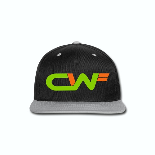 CWF Women's Long Sleeve Jersey Tee - White - Snap-back Baseball Cap