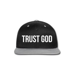 TRUST GOD - Snap-back Baseball Cap