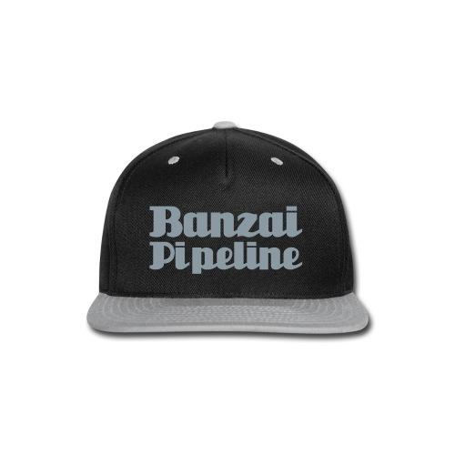 The Legendary Banzai Pipeline - North Shore - Oahu - Snap-back Baseball Cap