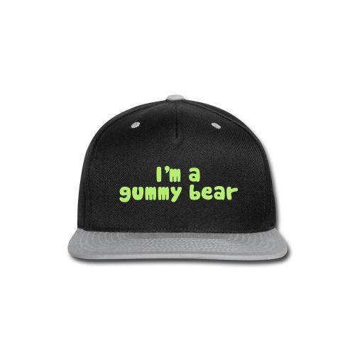 I'm A Gummy Bear Lyrics - Snap-back Baseball Cap