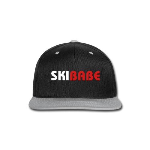 Ski Babe - Snap-back Baseball Cap