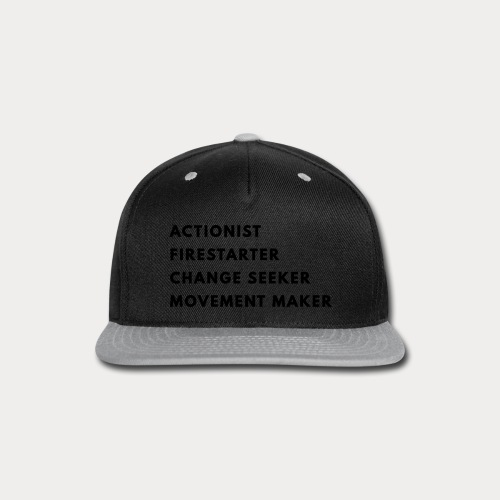 Change Seeker - Snap-back Baseball Cap