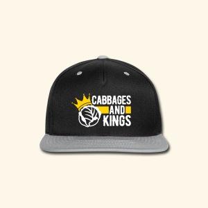 Cabbages & Kings - Snap-back Baseball Cap