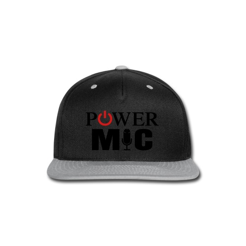 Power Mic T-Shirt - Snap-back Baseball Cap