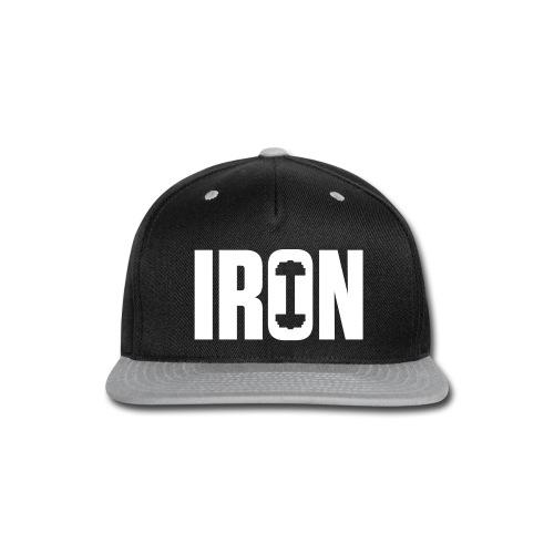 IRON WEIGHTS - Snap-back Baseball Cap