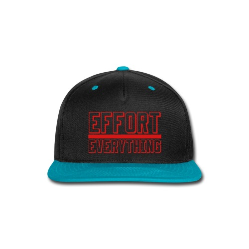 Effort Over Everything - Snap-back Baseball Cap