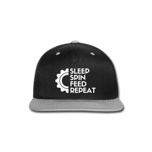 SLEEP SPIN FEED REPEAT One - Snap-back Baseball Cap
